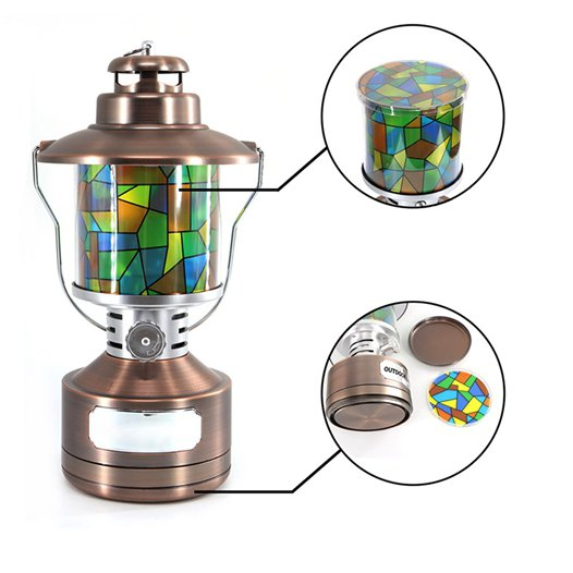 LED Lights Manufacturer, LED Lantern, Battery Operated Lanterns, Camping Tent Lights BG-C006 Colorful Details