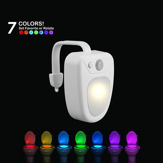 LED Lights Manufacturer, Motion Sensor Light, Toilet Light, LED Bowl Night Light BG-M003 Color Options
