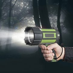 LED Lights Manufacturer, Handheld Spotlight, Rechargeable Spotlight, Outdoor LED Spotlights BG-W056 Deny the Darkness